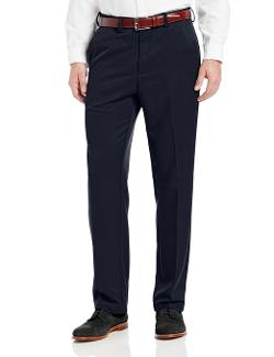 Haggar  - Straight Fit Solid Pant