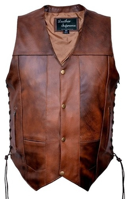 Leather Supreme  - Leather Vest