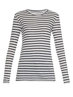 Isabel Marant ÉToile - Karon  Striped Linen T-Shirt