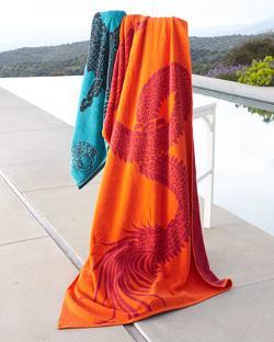 Natori  - Dragon Beach Towel
