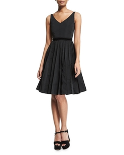 Marc Jacobs - Sleeveless Fit-&-Flare Dress