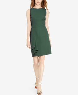 Lauren Ralph Lauren - Draped Sheath Dress