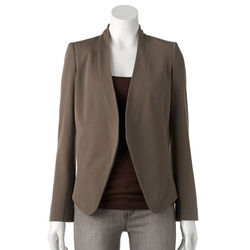 Apt. 9 - Solid Collarless Blazer