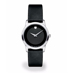 Movado  - Museum Leather Strap Watch