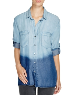 4 Our Dreamers - Ombré Chambray Shirt