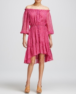 Diane Von Furstenberg - Camila Off Shoulder Dress
