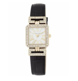 Anne Klein - Leather Strap Watch