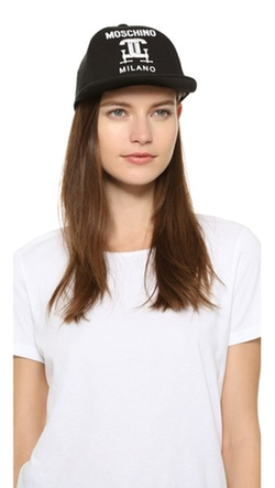 Moschino - Printed Cotton Cap
