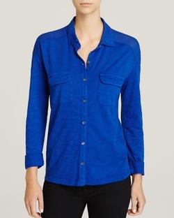 Three Dots - Button Down Shirt