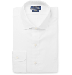 Polo Ralph Lauren - White Cotton Dress Shirt