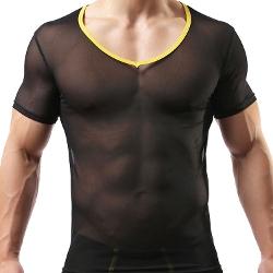 CM-CG - Sexy Mesh Clubwear T-shirt