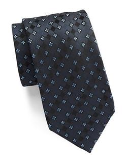 Vince Camuto  - Diamond Patterned Silk Tie