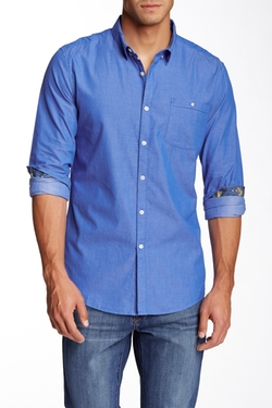 Indigo Star - Riddle Solid Regular Fit Shirt
