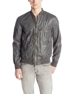 John Varvatos - Double Zipper Bomber Jacket
