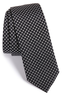 Boss  - Dot Silk Tie