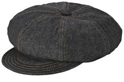 New York Hat Co. - Denim Stitch Spitfire Hat