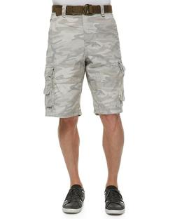 WRK  - Camo-Print Cargo Shorts