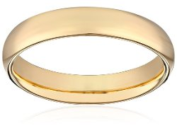 Amazon Curated Collection - Plain Wedding Band Ring