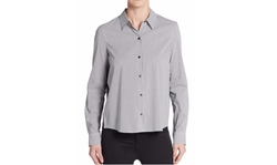 Sam Edelman  - Wren Chiffon-Back Shirt