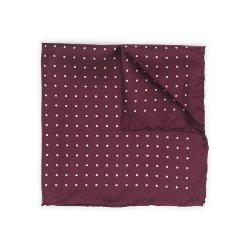 Club Monaco - Contrast Dot Pocket Square