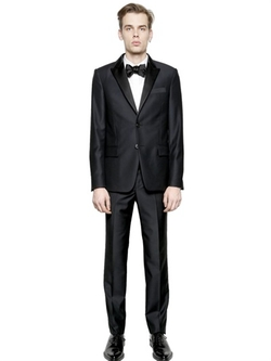 Givenchy - Satin Peaked Lapels Wool Suit