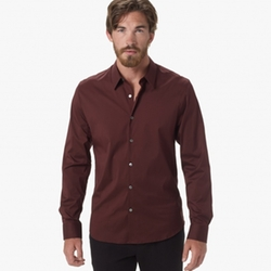 James Perse - Matte Stretch Poplin Dress Shirt