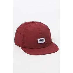 Brixton - Hoover II Burgundy Strapback Hat