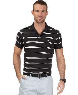 Nautica  - Striped Tech Polo