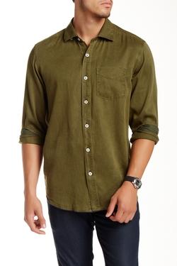 Tommy Bahama  - Still Twillin Long Sleeve Slim Fit Shirt