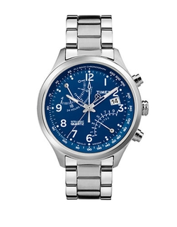 Timex - Chronograph Stainless Steel Watch