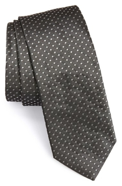 Boss - Gometric Dot Silk Tie
