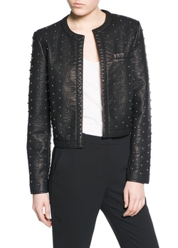 Mango Outlet - Round Stud Jacket