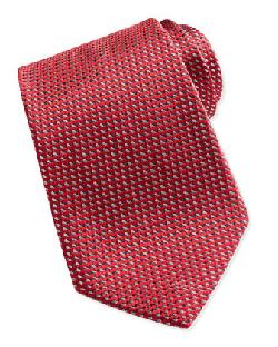 Ermenegildo Zegna - Textured Solid Tie, Red