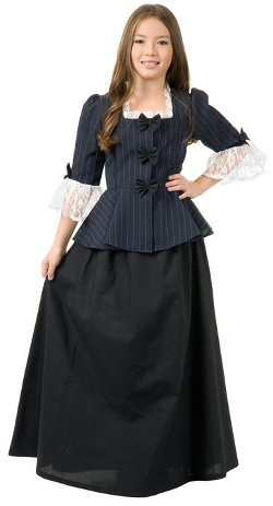 Charades Costumes  - Colonial Girl Child Costume