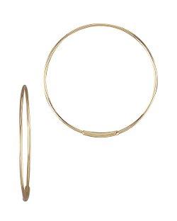 Lana  - Small Magic Hoop Earrings