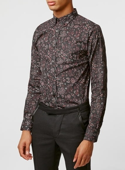 Selected Homme - Paisley Printed Shirt