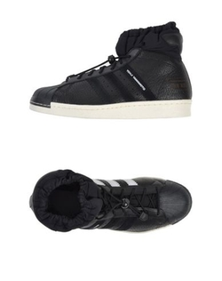 Y-3 - Techno-Fabric High-Top Sneakers