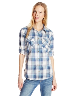 Carhartt - Huron Plaid Roll Sleeve Shirt