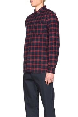 A.p.c. - Plaid Button Down Shirt