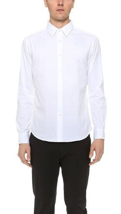 Theory  - Slyvain Solid Dress Shirt