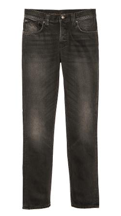 Nudie Jeans Co.  - Grim Tim Black Voyage Jeans