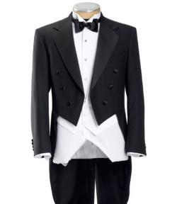Jos. A. Bank - Black Tails Coat Tuxedo Jacket