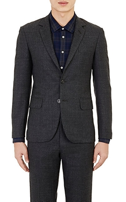 Brooklyn Tailors - Basket-Weave Two-Button Sportcoat