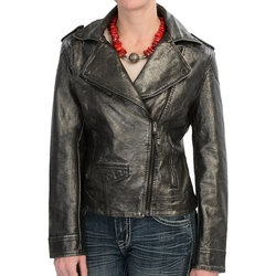Cripple Creek - Metallic Moto Jacket