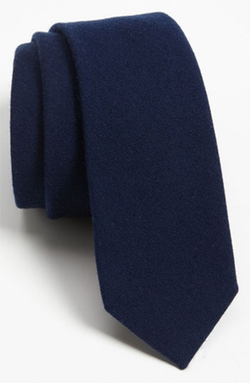 The Tie Bar - Solid Wool Tie