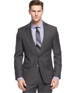 Ryan Seacrest Distinction - Solid Peak Lapel Jacket