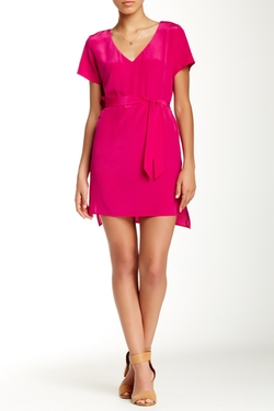 Amanda Uprichard  - V-Neck Silk Dress