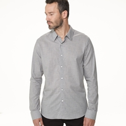 James Perse - Chambray Flannel Shirt