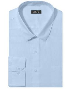Alfani  - Big and Tall Textured Solid Dress Shirt