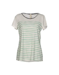 Le Coeur De Twin-Set Simona Barbieri - Jersey Stripes T-Shirt